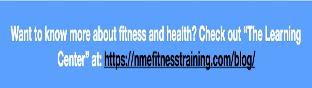 No More Excuses Fitness Training: www.nmefitnesstraining.com