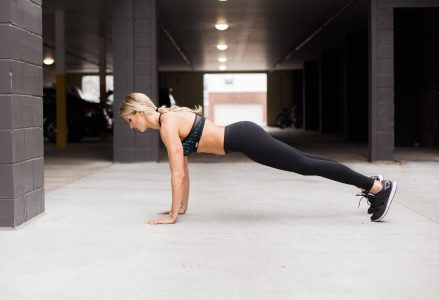 www.nmefitnesstrainig.com: What's Your number? How Many Workouts Per Week You Should be Doing and for How Long: Laura M. Howell doing side crunches