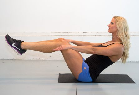 Laura M. Howell: Boat Pose: www.nmefitnesstraining.com: 10 Sign's its's time to break-up with your workout