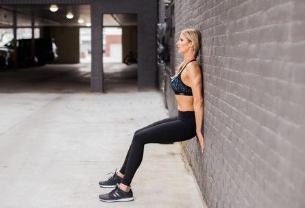 No More Excuse Fitness Training: Laura M. Howell Outdoor Wall Sit: 8 Situations Where it's okay to Skip Your Workout: www.nmefitnsstraining.com