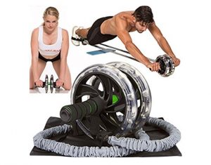 www.nmefitnesstrainig.com: Get Your Roll On: The 5 Best AB Rollers on the Market : double-wheel with band ab roller: NO More Excuses Fitness Training