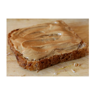 10 Healthy Snacks to Eat in the Afternoon: bread with peanut butter: NO More Excuses Fitness Training: www.nmefitnesstraining.com